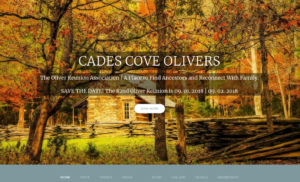 Cades Cove Olivers website